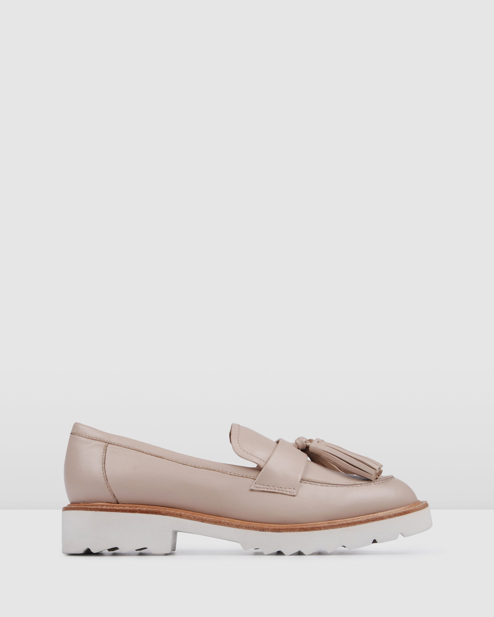 SABLE LOAFERS BLUSH LEATHER