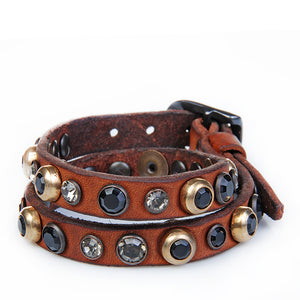 SAHARA BRACELET COGNAC LEATHER