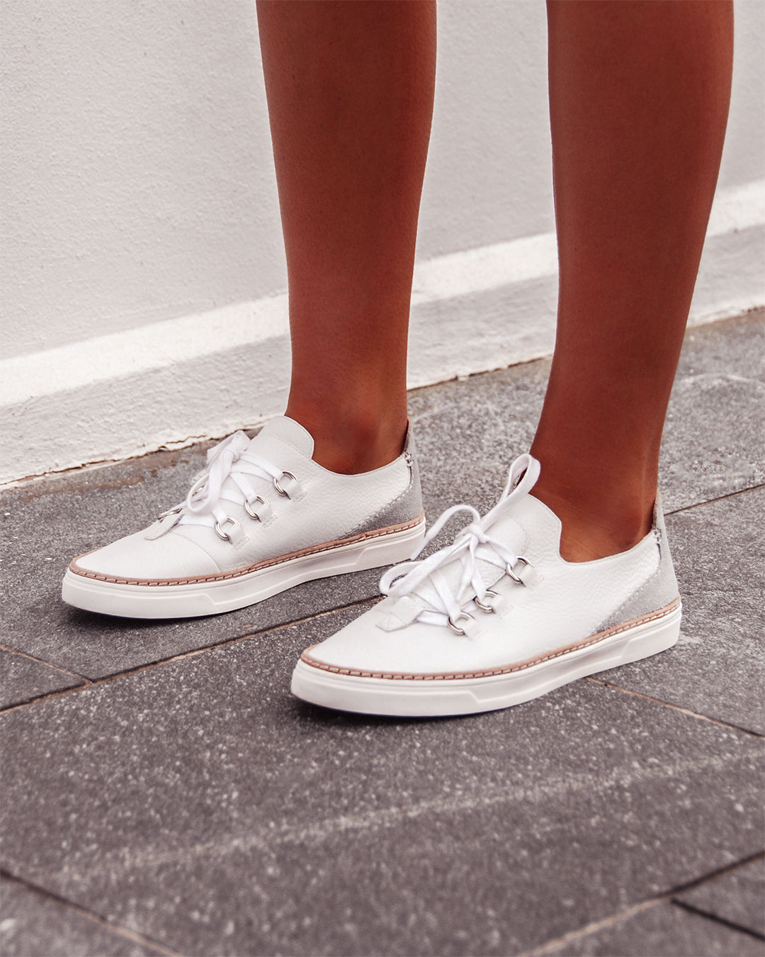 FLOAT SNEAKERS WHITE/GREY