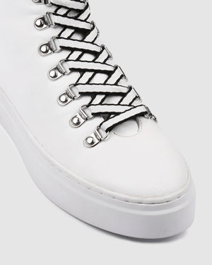 TORINO SNEAKERS WHITE LEATHER