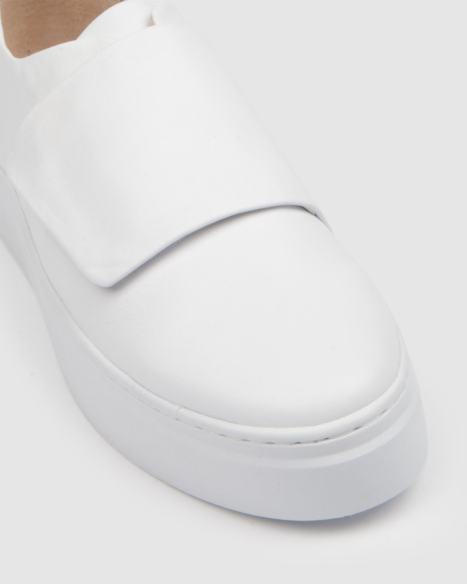 TULLIE SNEAKERS WHITE LEATHER