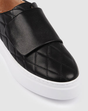 TYSON SNEAKERS BLACK LEATHER