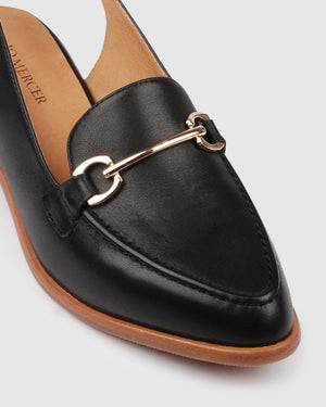 VERMONT LOAFERS BLACK LEATHER