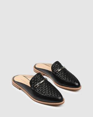 WILLA LOAFERS BLACK LEATHER