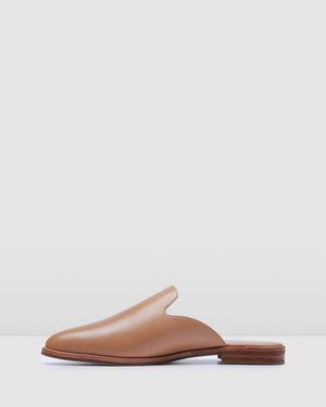 WYATT CASUAL FLATS TAN LEATHER