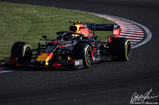 Alex Albon, Red Bull-Honda, Japanese GP 2019 (2)