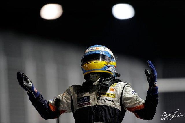 Fernando Alonso 2008 Singapore