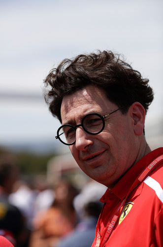 Mattia Binotto, Ferrari, French GP 2019