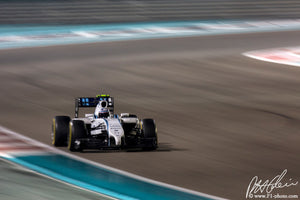 Valtteri Bottas, Williams-Mercedes, Abu Dhabi GP 2014 (3)