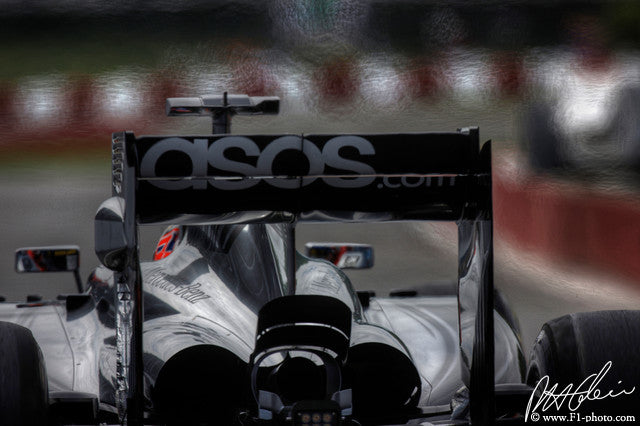 Jenson Button, McLaren-Mercedes, Canadian GP 2014 (1)
