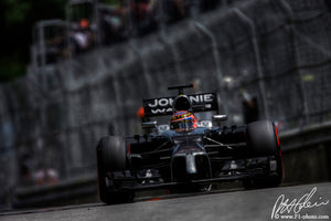 Jenson Button, McLaren-Mercedes, Canadian GP 2014 (4)