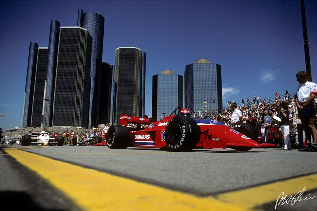 Eddie Cheever 1986 USA