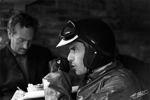 Jim Clark, Colin Chapman 1965 Holland