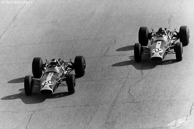 Jim Clark, Graham Hill 1967 Italy