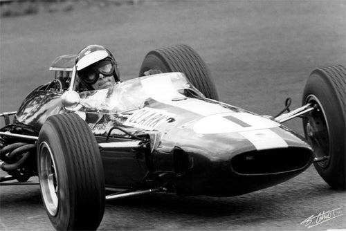 Jim Clark 1964 Holland