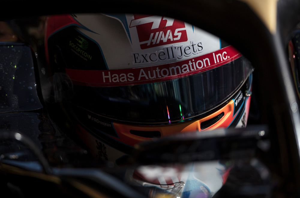Romain Grosjean, Haas-Ferrari, Spanish GP 2019 (1)