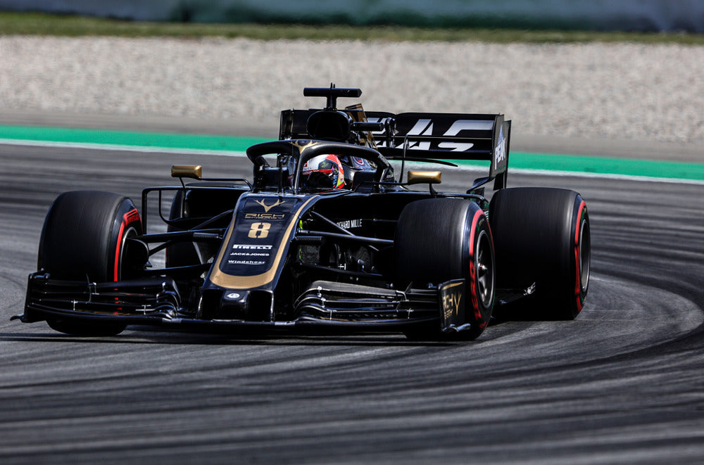 Romain Grosjean, Haas-Ferrari, Spanish GP 2019 (2)