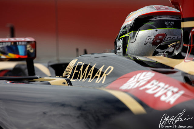 Romain Grosjean, Lotus-Renault, Canadian GP 2014