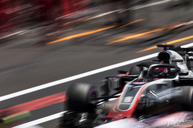 Romain Grosjean, Haas-Ferrari, French GP 2018 (1)
