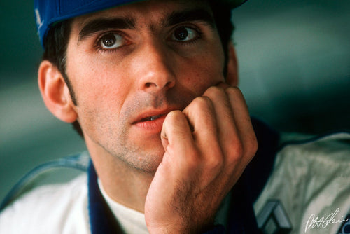 Damon Hill 1995 Monaco