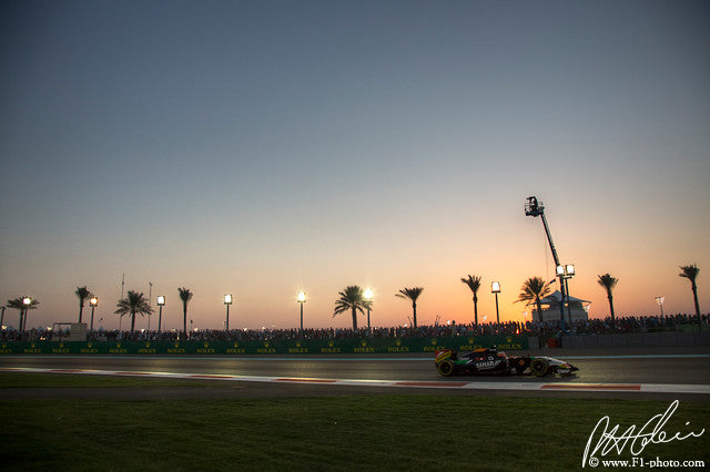 Nico Hulkenberg, Force India-Mercedes, Abu Dhabi GP 2014 (2)