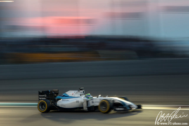 Felipe Massa, Williams-Mercedes, Abu Dhabi GP 2014 (6)