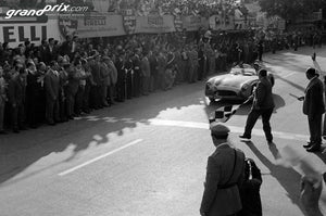 Stirling Moss, Denis Jenkinson 1955 Mille Miglia