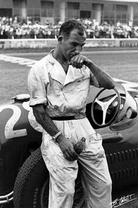 Stirling Moss 1954 Italy