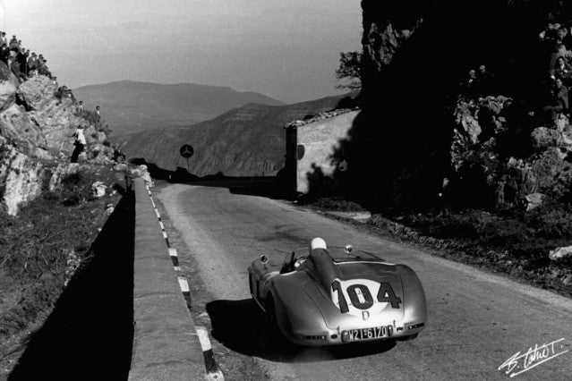 Stirling Moss 1955 Targa
