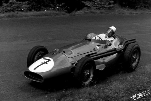 Stirling Moss 1956 Germany