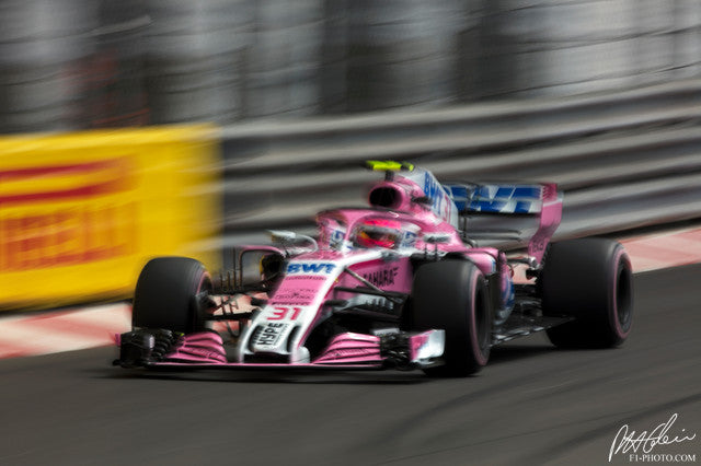 Esteban Ocon, Force India-Mercedes, Monaco GP 2018 (1)