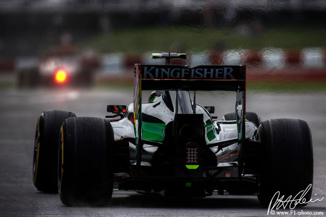 Sergio Perez, Force India-Mercedes, Canadian GP 2014 (1)