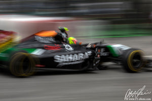Sergio Perez, Force India-Mercedes, Canadian GP 2014 (3)