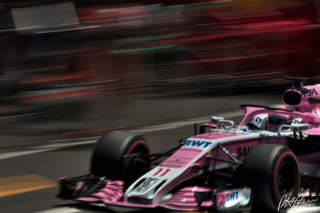 Sergio Perez, Force India-Mercedes, French GP 2018 (2)