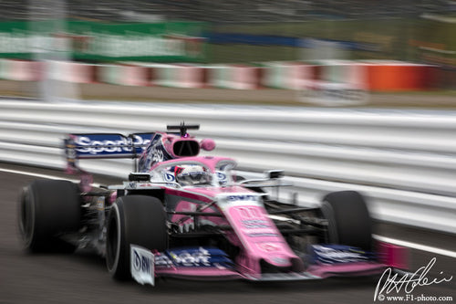 Sergio Perez, Racing Point-Mercedes, Japanese GP 2019
