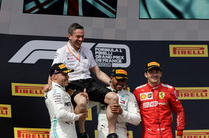 Podium, French GP 2019