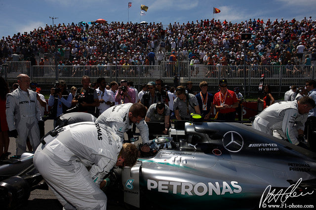 Nico Rosberg, Mercedes GP, Canadian GP 2014 (3)