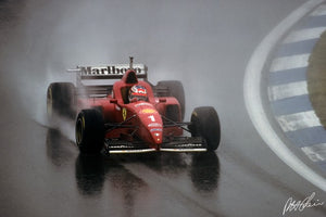 Michael Schumacher 1996 Spain