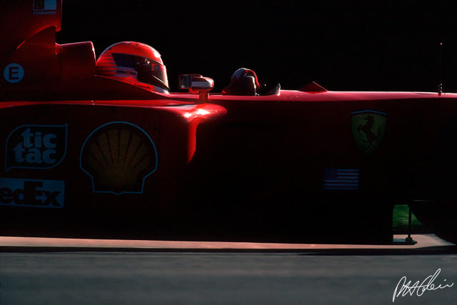 Michael Schumacher 2001 USA