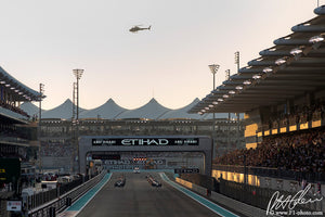 Start, Abu Dhabi GP 2014 (1)