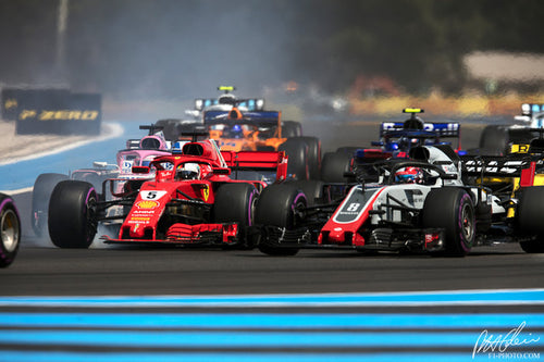 Start, French GP 2018
