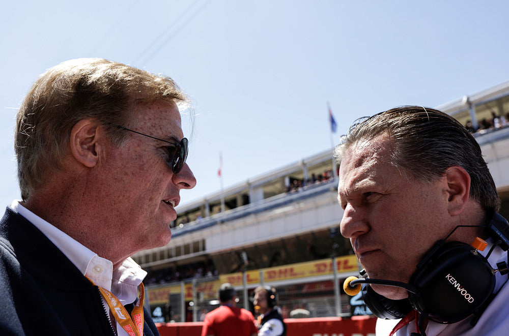 Danny Sullivan, Zak Brown, Spanish GP 2019