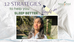 12 Strategies to help you sleep better tonight - hacks TO BEAT INSOMNIA