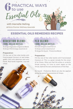 6 practical ways to use Essential Oils