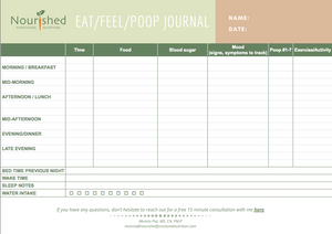 Eat-Feel-Poop Journal