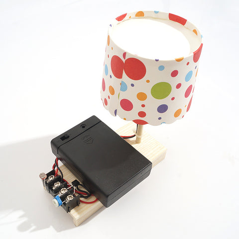 Optically Controlled Desk Lamp Electronics Kit