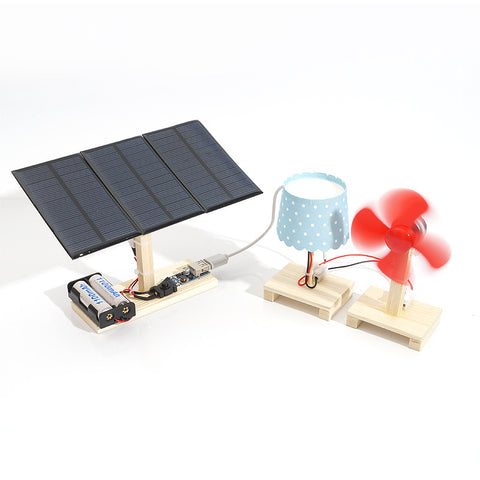 Mini Solar Power Station Model Kit