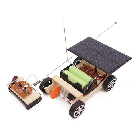 Solar Remote Control Car Kit