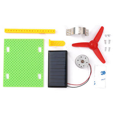 Solar Photovoltaic Fan DIY Kit