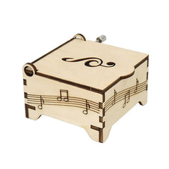 Wooden Music Box DIY Kit